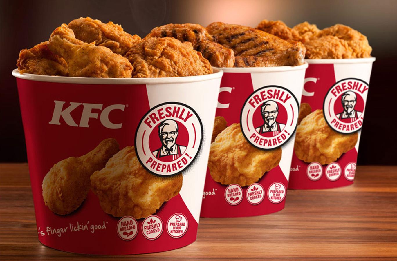 KFC - Наслаждайся настоящим!