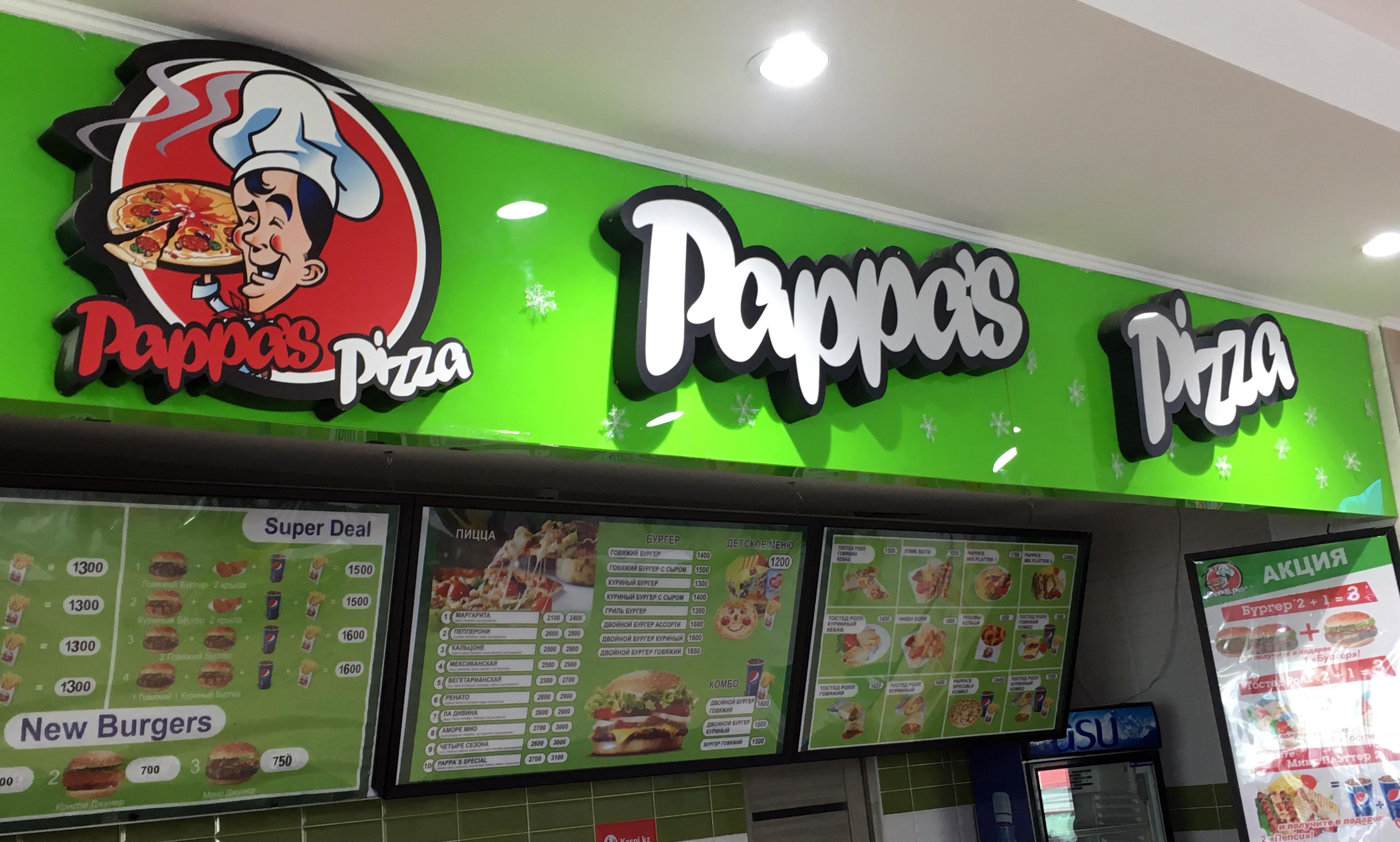 Вкуснейшая итальянская и мексиканская пицца